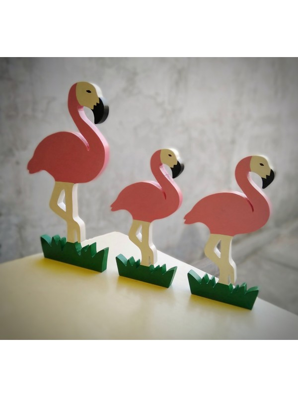 Flamingo Mini Biblo 3'lü Set